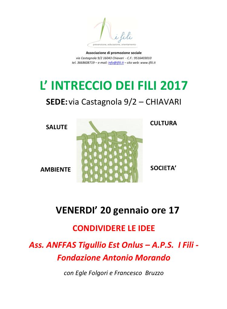 lintreccio-dei-fili-20-gennaio-2017